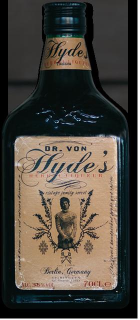 Dr Von Hyde's Herbal Liqueur Bottle